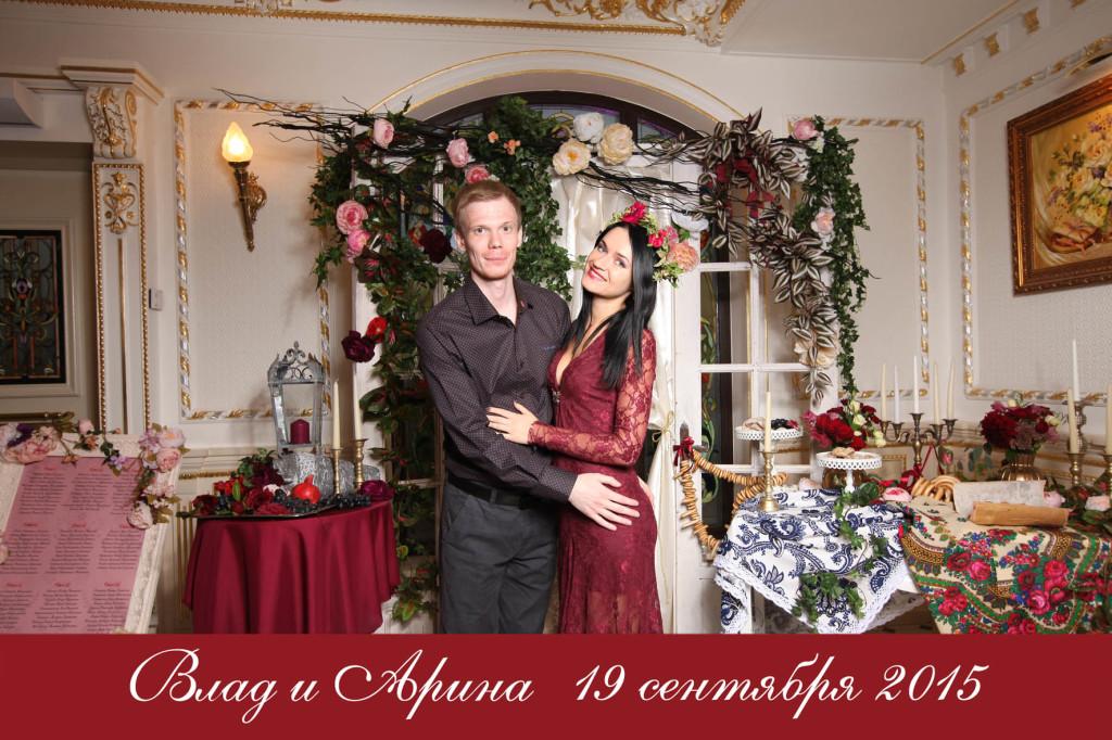 Моментальные фотомагниты на свадьбу (3)